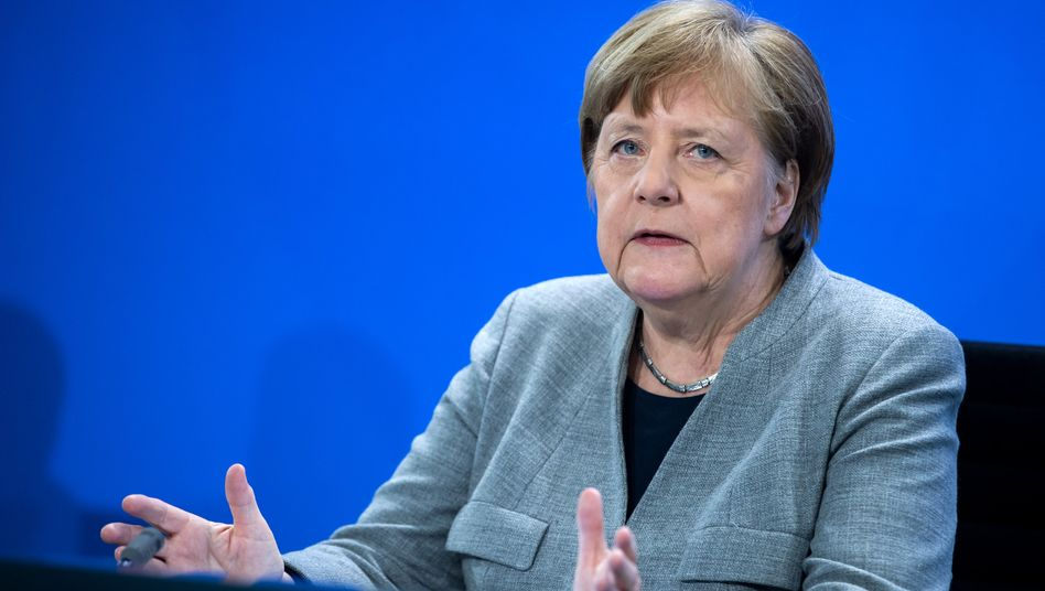 """Kanzlerin Merkel: """"Mehr öffentliches Leben zulassen in kleinen Schritten"""""""