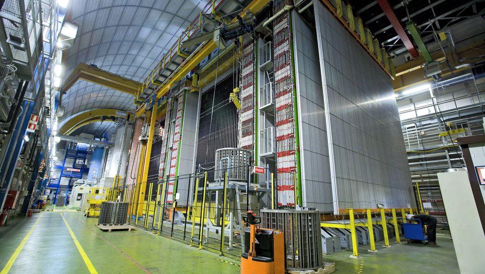 Gran-Sasso-Labor des Nationalen Instituts für Kernphysik in den italienischen Abruzzen