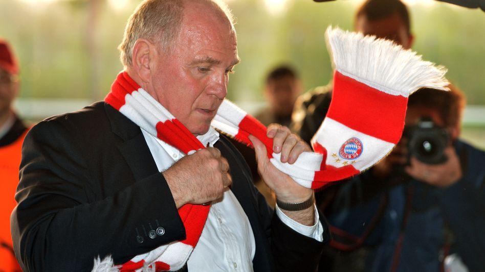 Bayern-Präsident Hoeneß: Steuerschuld soll bei 3,2 Millionen Euro liegen