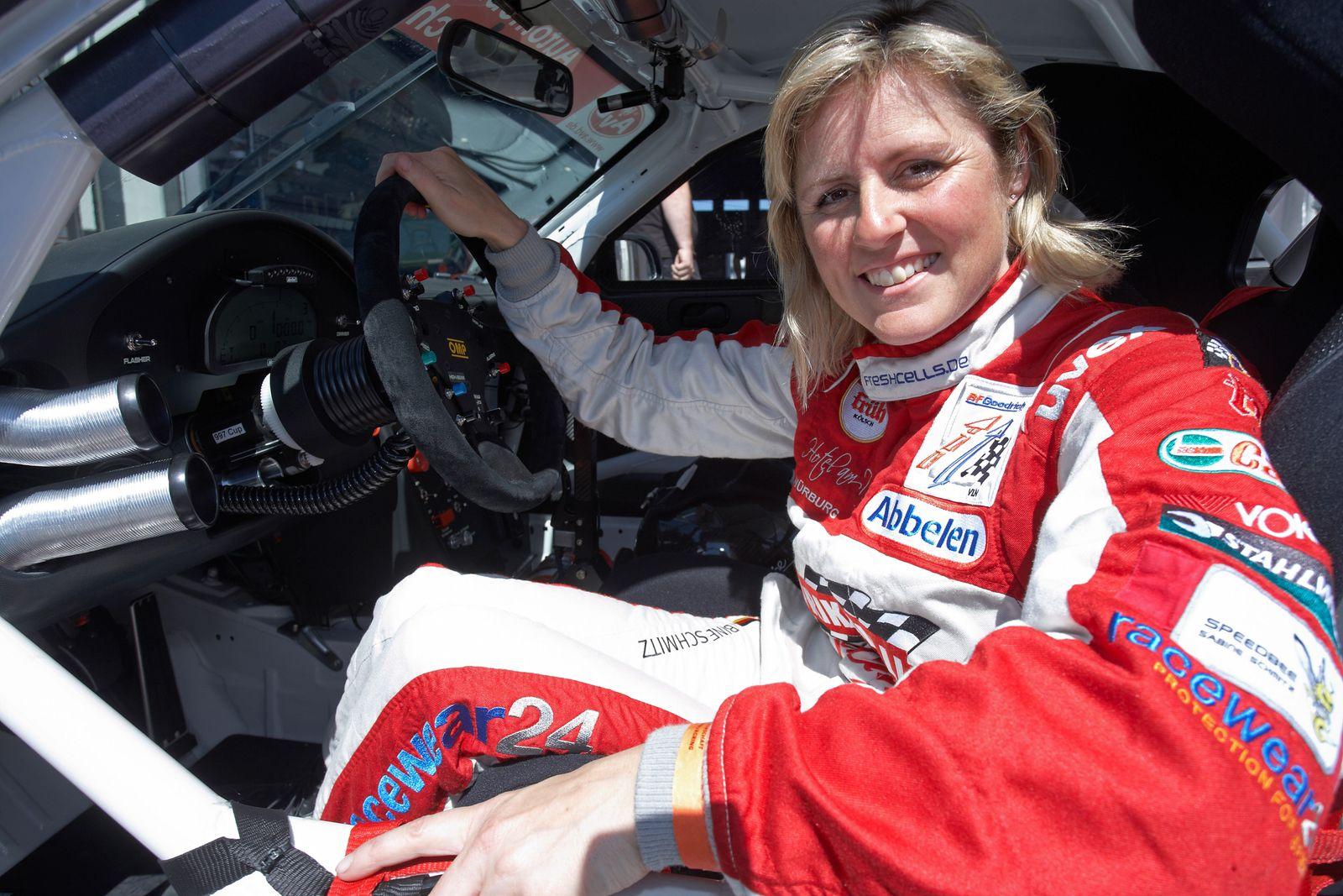 Rennfahrerin Sabine Schmitz