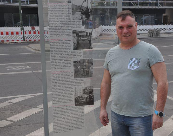 Greiser in der Chausseestraße, 2019