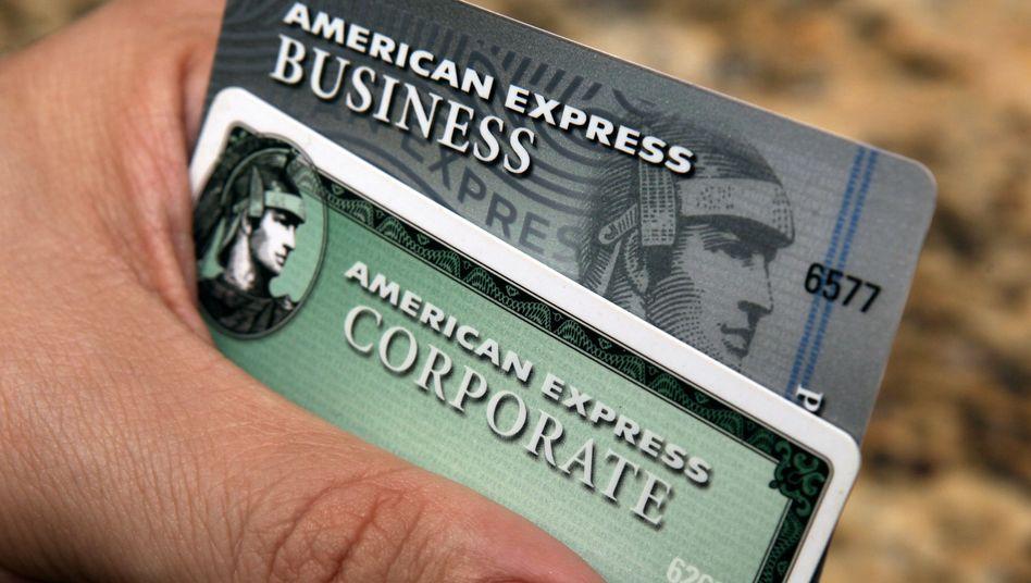 Karten von American Express: Der freie Wettbewerb wurde unterdrückt
