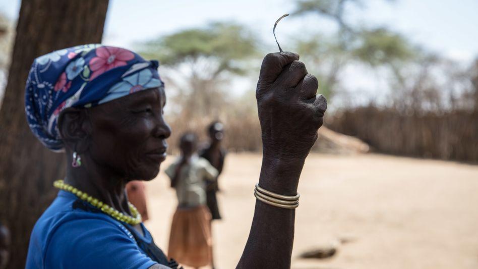 Frau in Uganda: Genitalverstümmelung ist dort seit 2010 verboten