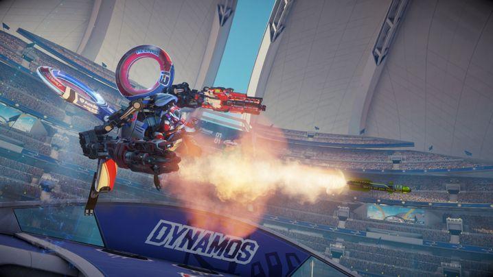 """Playstation-VR-Shooter """"Rigs"""""""
