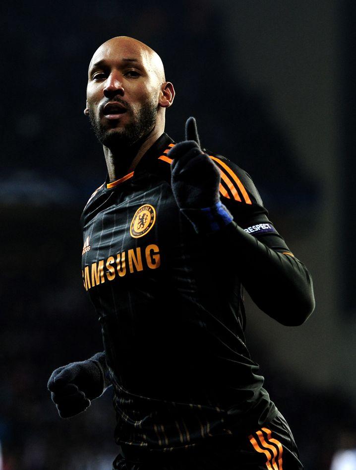 Stürmer Anelka (im Chelsea-Trikot 2011): Guter Kumpel von Carlo Ancelotti