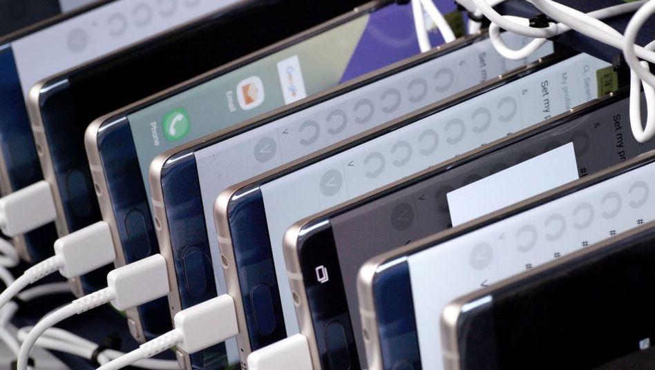 Samsung-Akkus im Dauertest