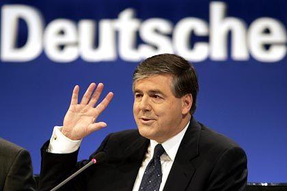 Deutsche-Bank-Chef Ackermann: Verfahren einstellen, wenn Schwere der Schuld nicht dagegenspricht