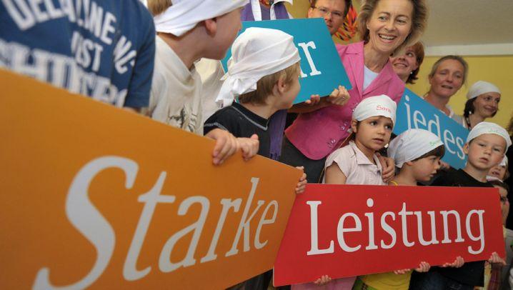 Ursula von der Leyen: Super-Mom im Arbeitsministerium
