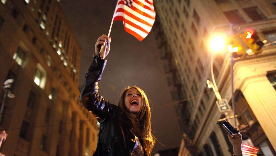 """Jubelnde Frau in New York: """"Unreflektierte Naivität"""""""