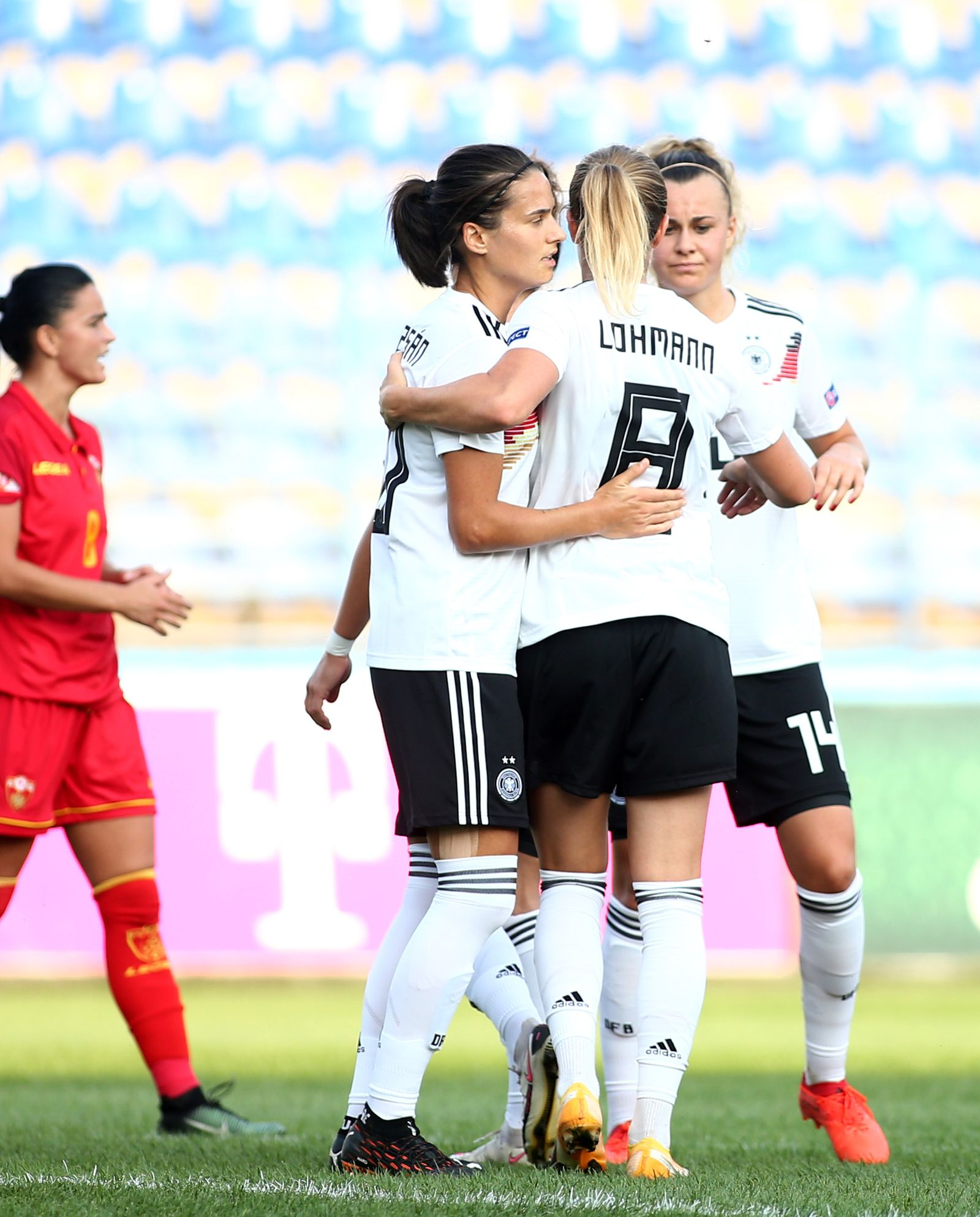 Montenegro Women's v Germany - Womens's UEFA Women's EURO 2022 Qualifier