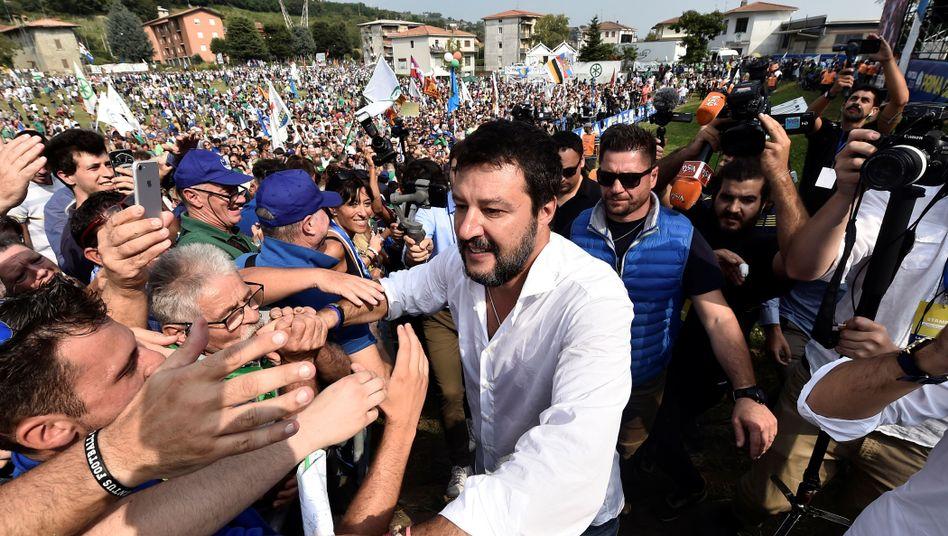 Matteo Salvini will Italiens Regierung stürzen