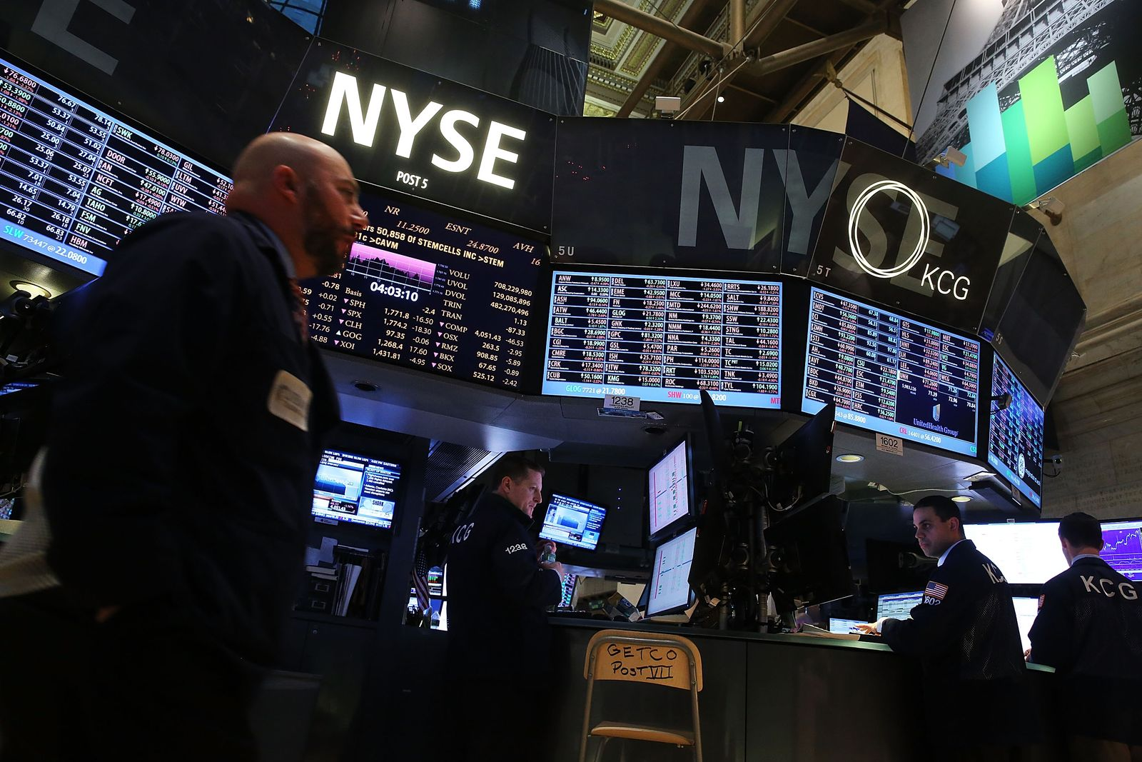 US-MARKETS-REACT-TO-FED-INTEREST-RATE-DECISION
