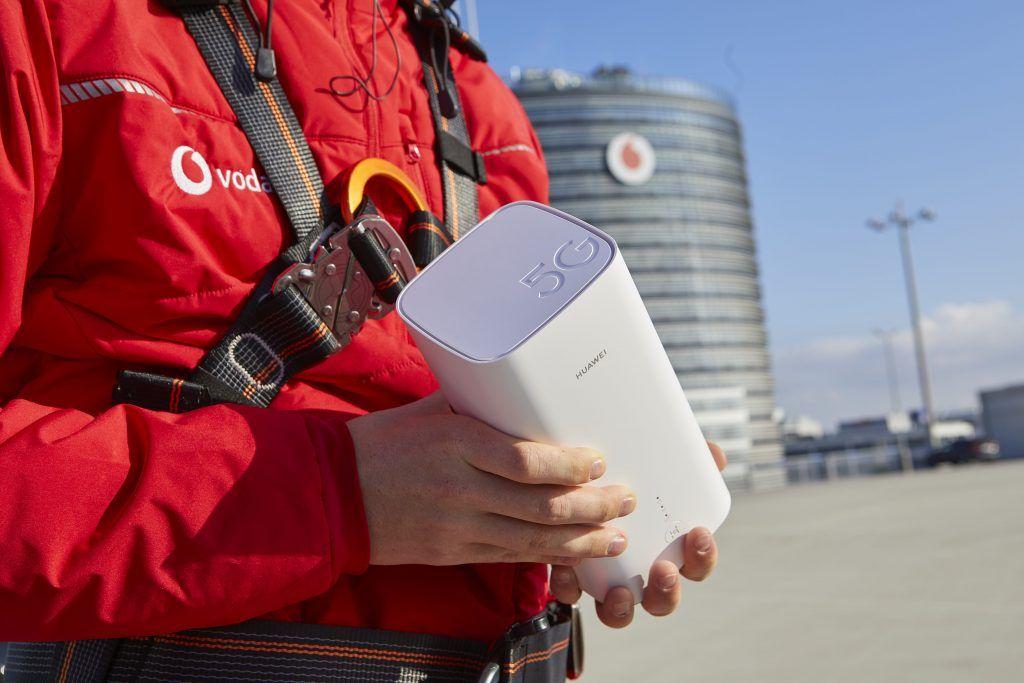 EINMALIGE VERWENDUNG 5G / Vodafone
