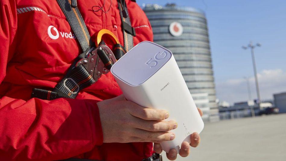 Vodafone aktiviert sein 5G-Netz für Privatkunden