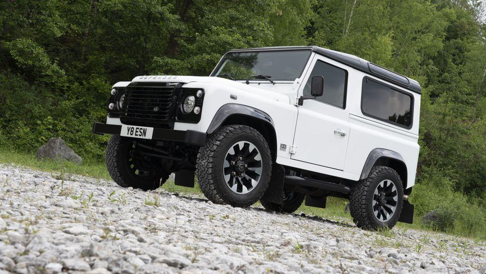 Land Rover Defender Works V8: Aus alt mach' neu