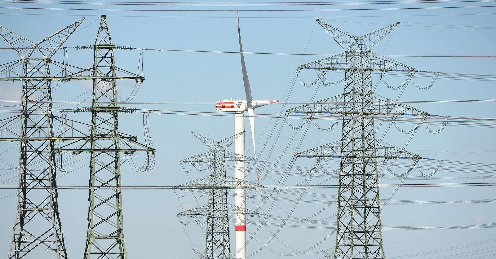 Windenergie / Strom / Erneuerbare Energie / Windrad