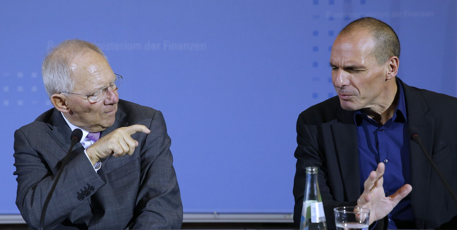 Wolfgang Schäuble / Yanis Varoufakis