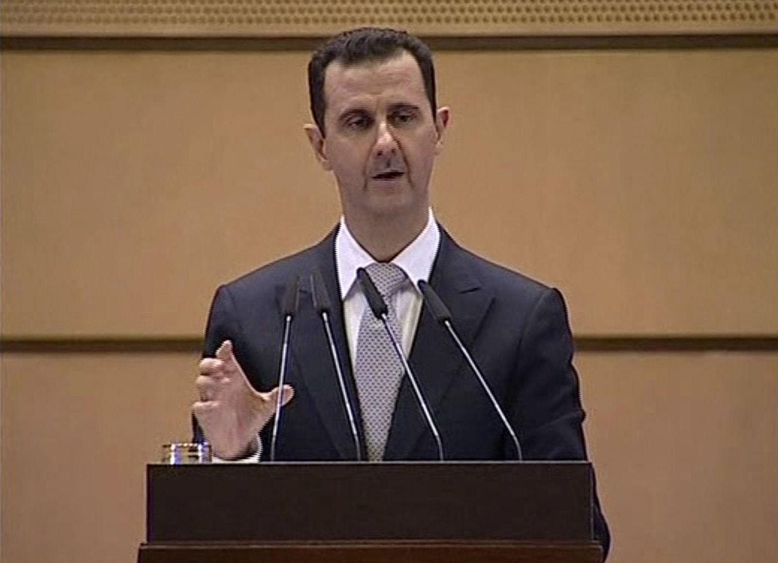 Assad/ TV