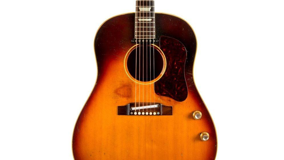 John Lennons Gibson J-160E: Verschollener Schatz