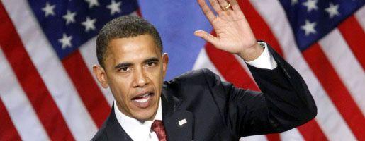 Kandidat Obama: Sein Team sieht Angela Merkel als momentan stärkste Führungsfigur in Europa