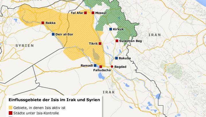 Irak und Syrien: Der Konflikt im Überblick