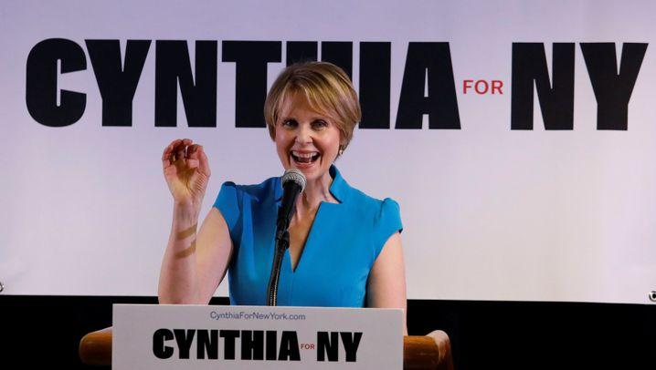 Kandidatur um Gouverneursamt: Spenden aus Hollywood für Cynthia Nixon