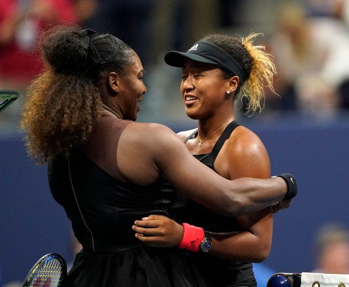 Williams gratulierte Osaka nach ihrem Triumph