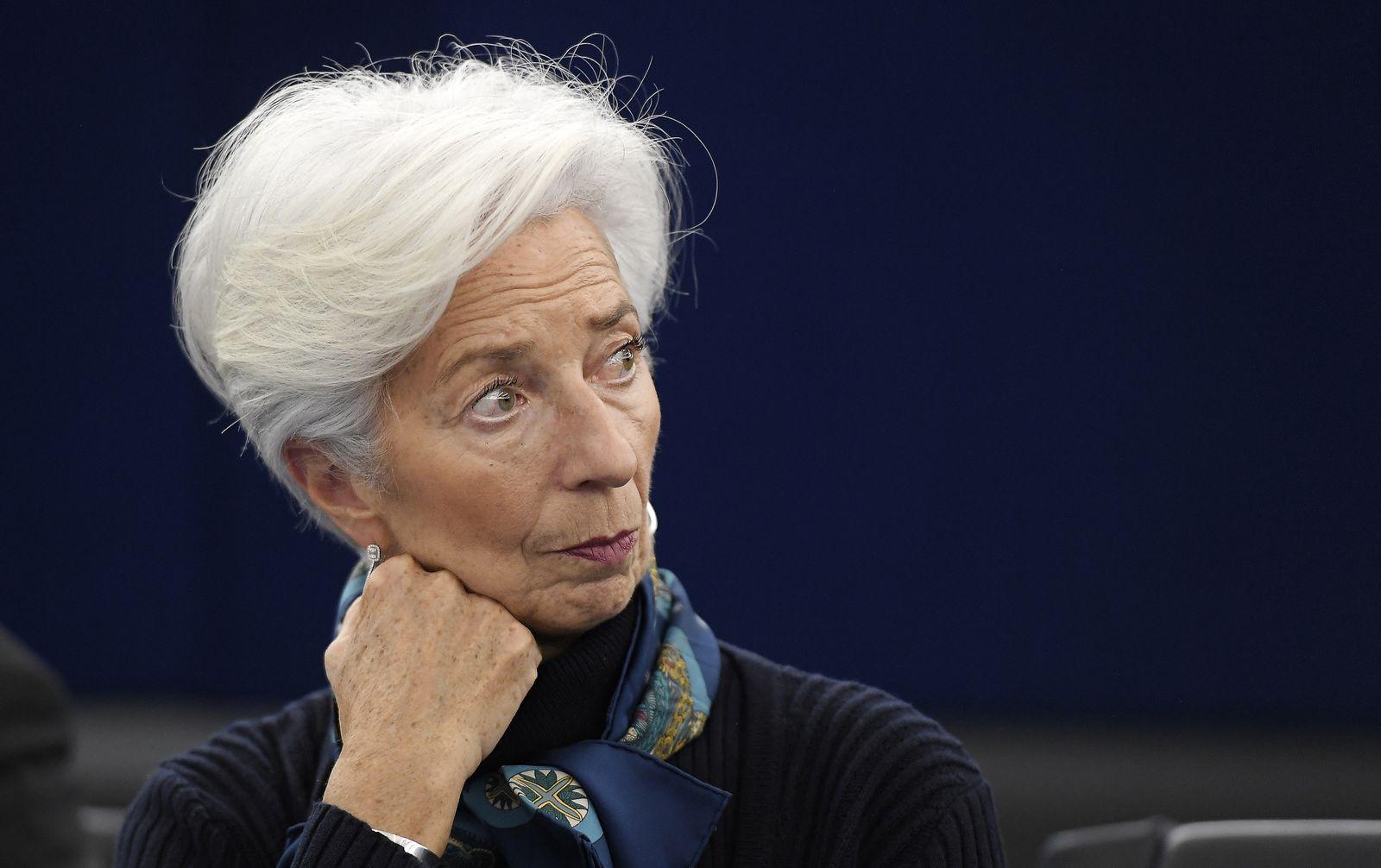FRANCE-EU-PARLIAMENT-ECB-ECONOMY-EUROZONE