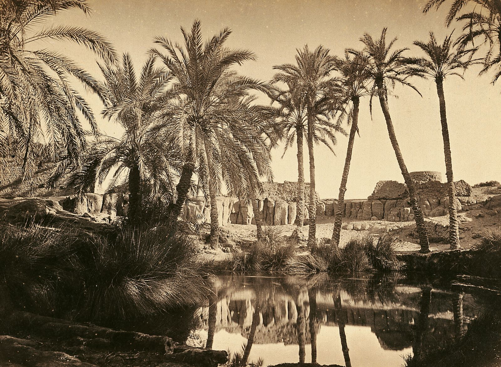 Historische Reisebilder - Die Oase Farafra