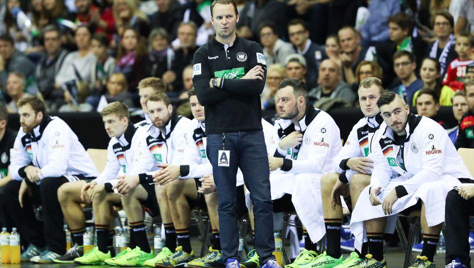 Dagur Sigurdsson und sein Team