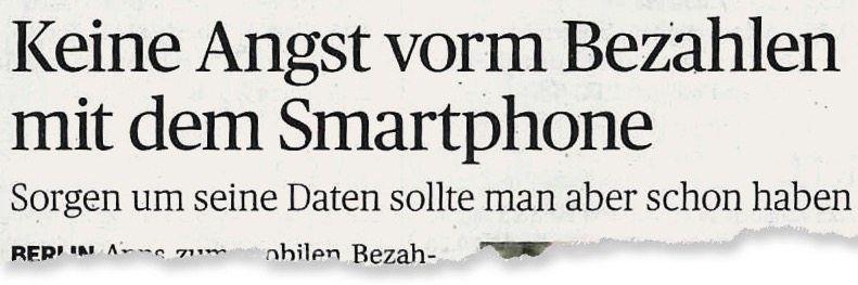 Aus der »Aachener Zeitung«