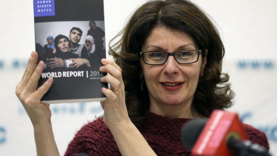 """Human-Rights-Watch-Chefin Denber: """"Beispiellose Welle von Kontrollen"""""""