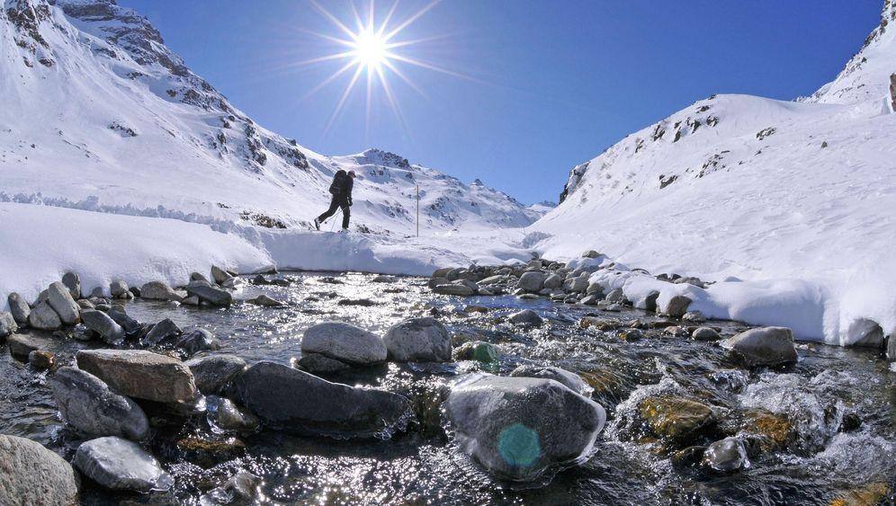 Vier Skitouren in den Alpen: Von Piz Palü bis Ötztaler Alpen