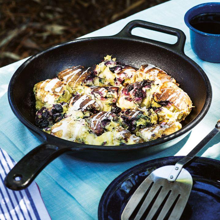 Camperglück: Blaubeerscones zum Frühstück