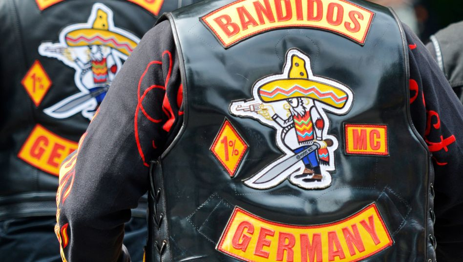 Bandidos-Mitglieder in Bochum (Archivbild)