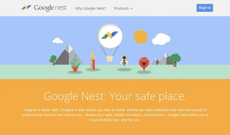 NUR ALS ZITAT Screenshot Google Nest Fake