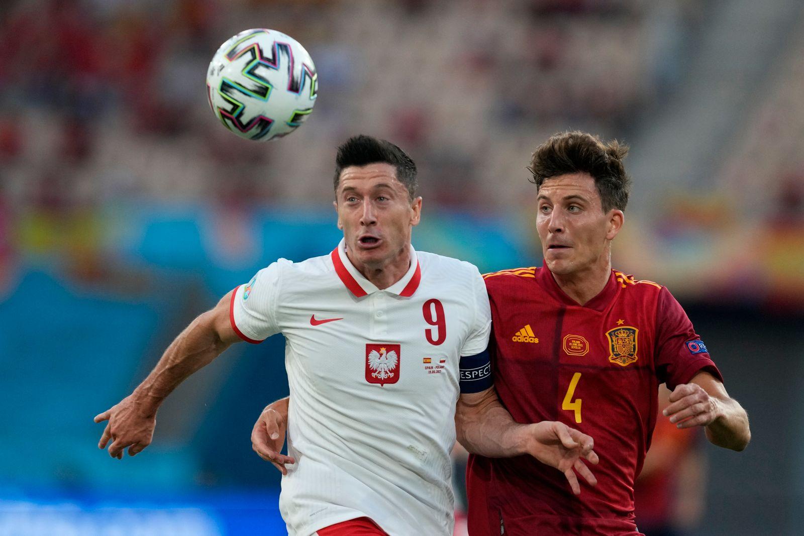 Fußball EM - Spanien - Polen