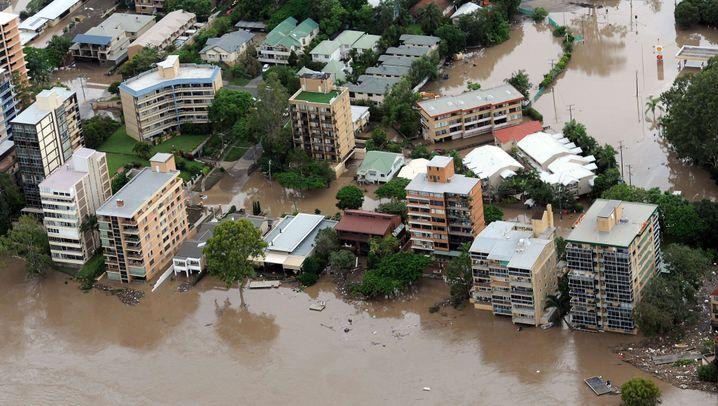 Überschwemmungen: Brisbane unter Wasser