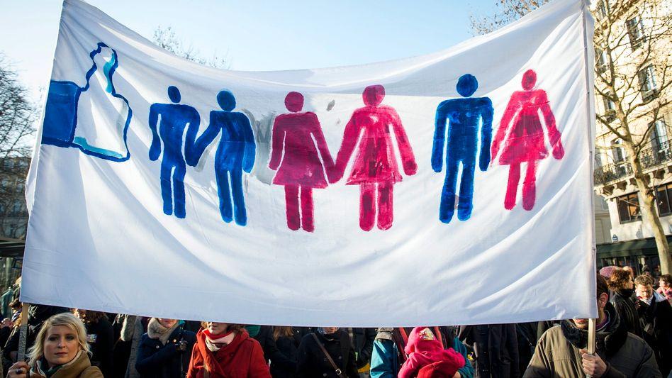 Demo für die Homo-Ehe: Erste Hochzeiten im Juni erwartet