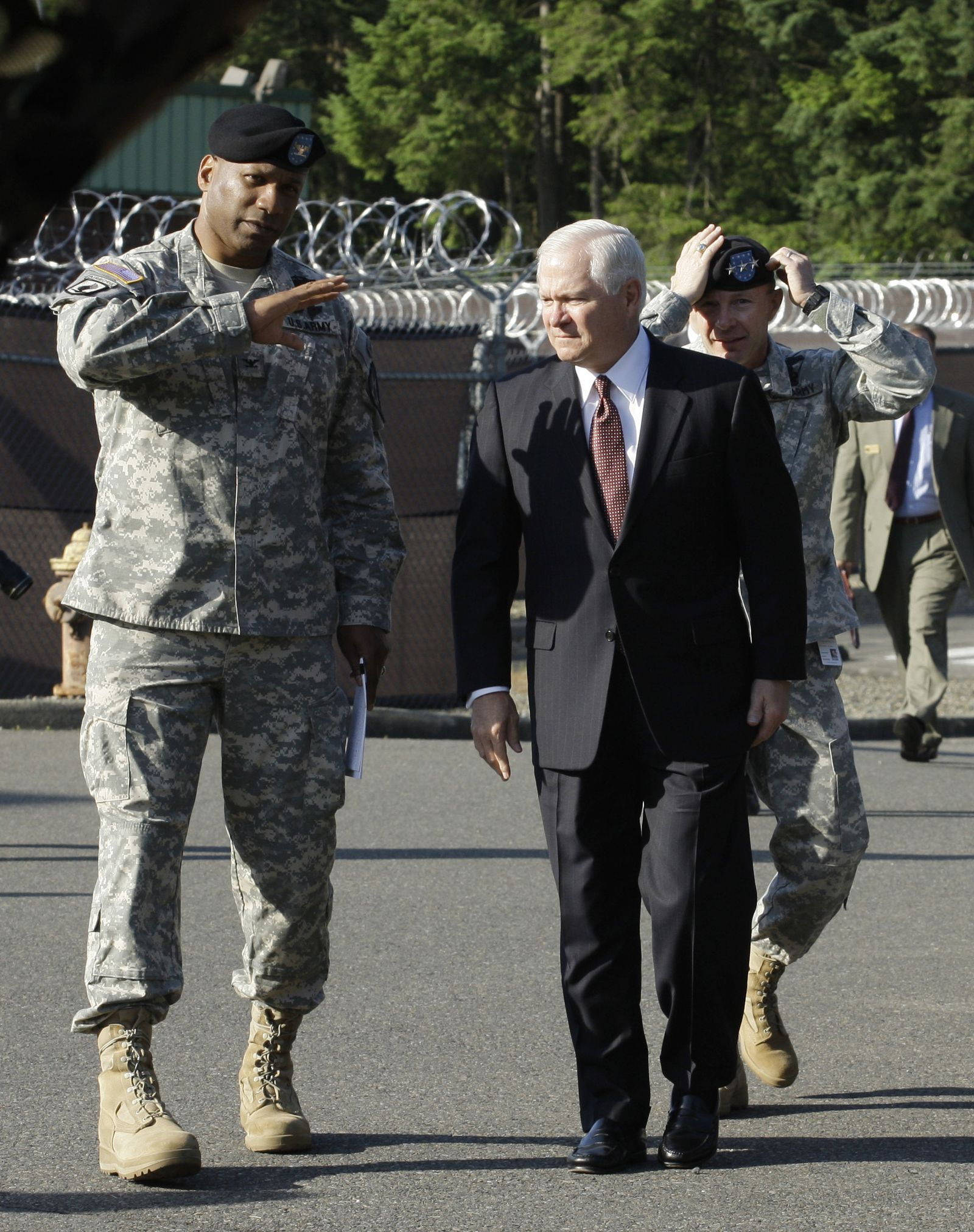 Harry Tunnell / Robert Gates / Charles Jacoby