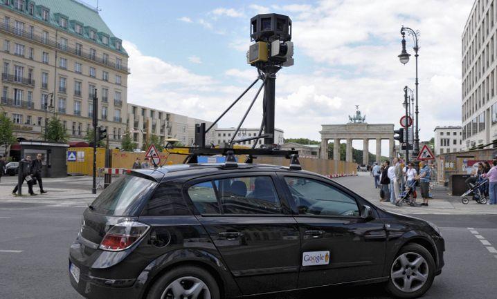 Google-Kamerawagen: Datenschutz im Internetzeitalter