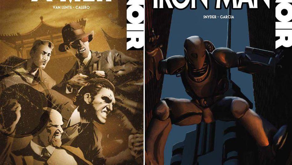 Marvel-Noir-Reihe: Figuren vom Ballast der Geschichte befreit