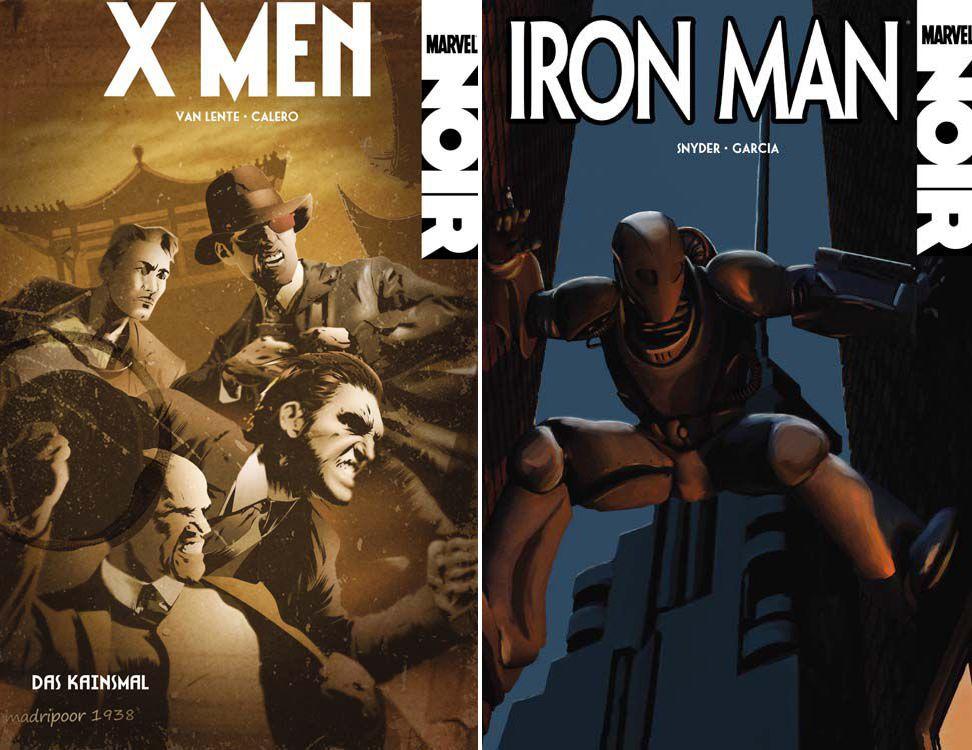 EINMALIGE VERWENDUNG Tageskarte 06.06.11/ Buch/ Marvel Noir/ Doppel-Cover