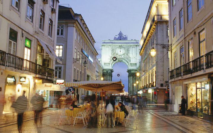 Altstadt von Lissabon: Nach drei Minus-Jahren wächst die Wirtschaft wieder