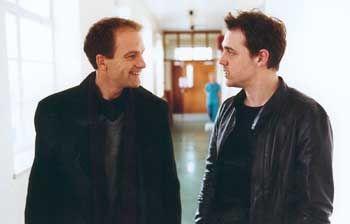 Odd Couple: Harbour (Adrian Rawlins) und Wilbur (Jamie Sives)