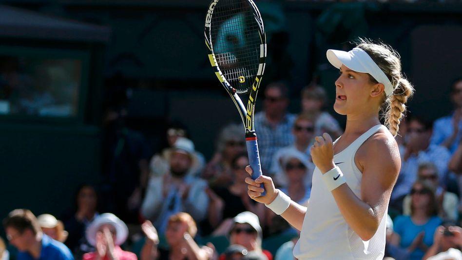 Tennisprofi Bouchard: Erstmals in einem großen Finale