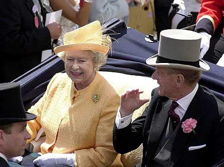 Die Queen ist im Mobilfunkzeitalter angekommen