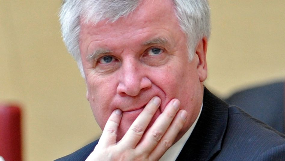 "Bayerns Ministerpräsident Horst Seehofer (CSU): ""Dass das klar ist"""