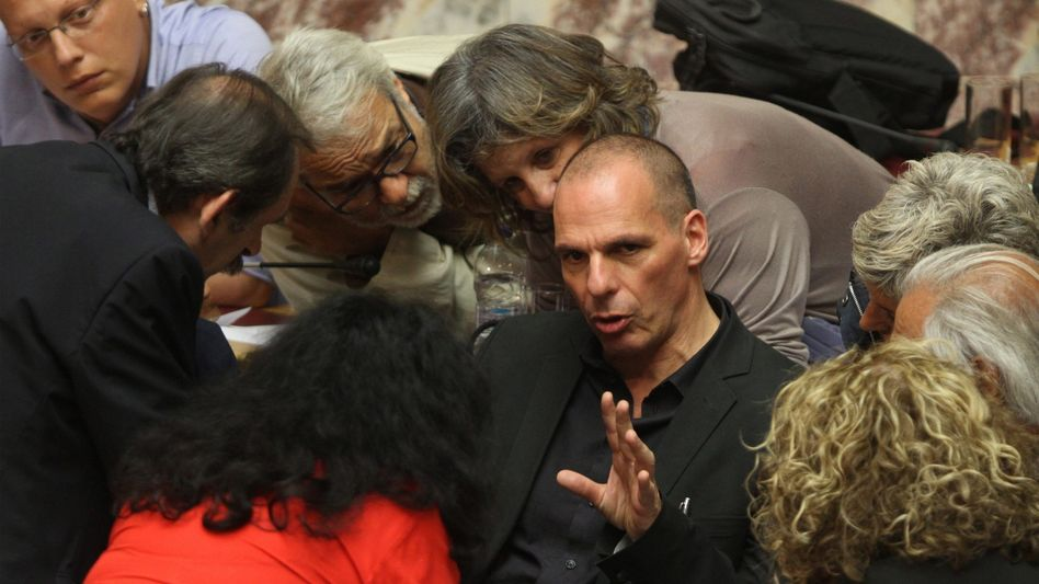 Finanzminister Varoufakis: Sorge um die griechischen Banken