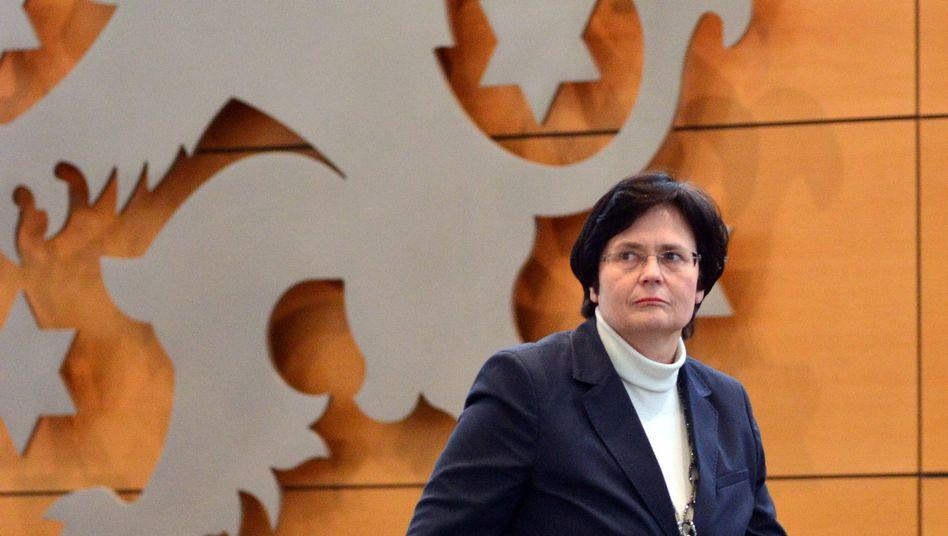 Thüringens Ministerpräsidentin Lieberknecht (CDU): Beteiligungsbereitschaft der Länder derzeit nicht gegeben